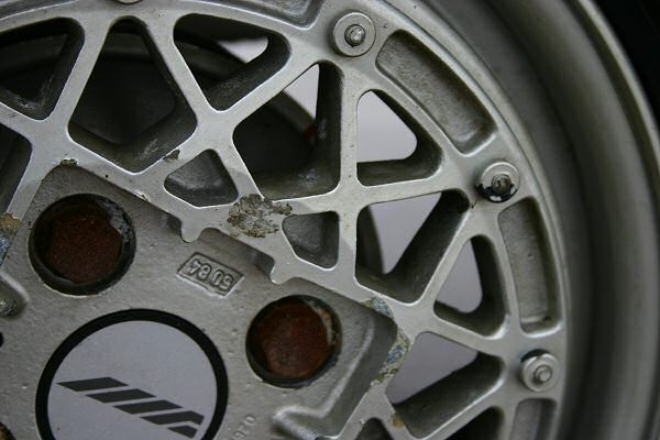 You'll have seen this wheel design before on the ECV3 prototype...