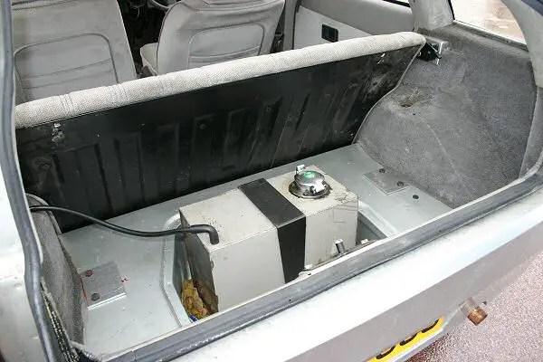 Prototype sports prototype fuelling system...
