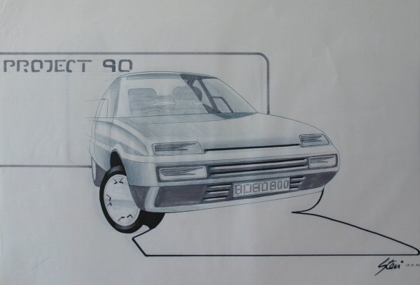 August 1983, and the final design takes form...