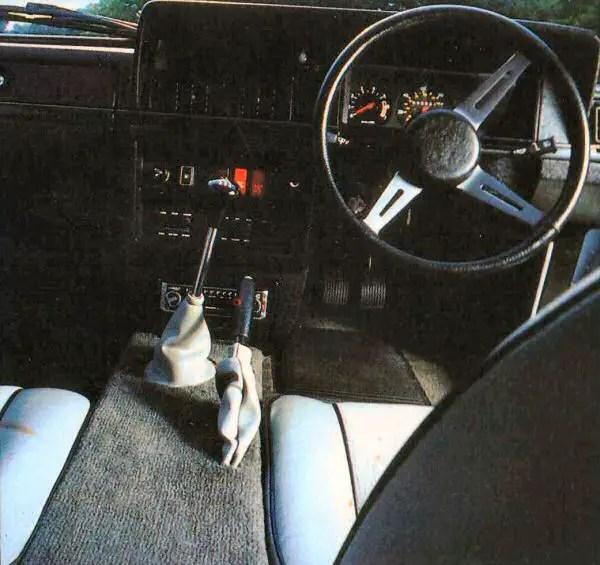 Luxury interior has a familiar feel...