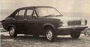 The Chrysler Avenger GLS (Todd's publicity shot, 1977)