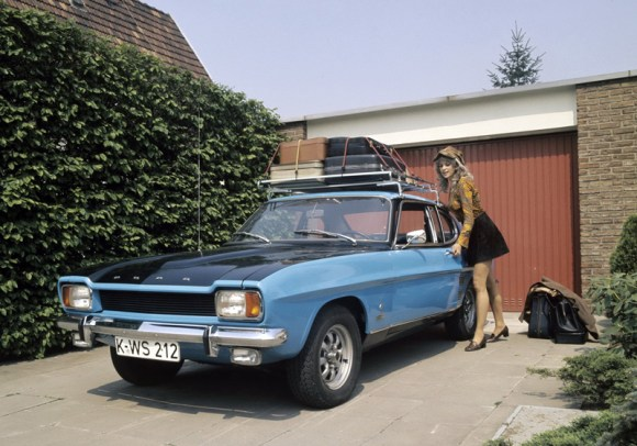 Ford Capri was a useful holiday companion