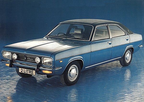 UK Spec Chrysler 2-Litre: the auto-only flagship was hampered in the UK by a number of factors, not least its lack of UK kudos, a non-prestigious badge and 'anonymous' styling.