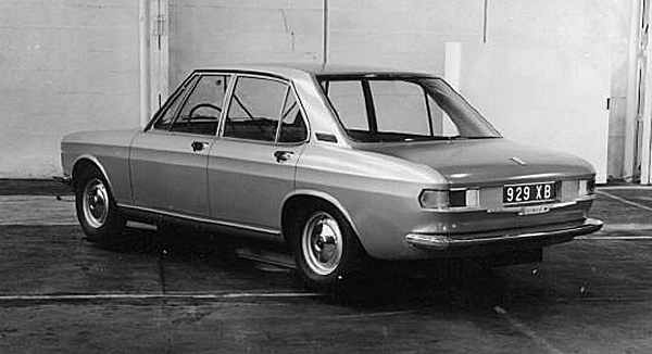 The Bertone proposal for SIMCA's ill-fated Projet 929: the style may have had some BMW influences, but the engineering would have been all-French. In the end, this and two other proposals (for Projet 929) were passed over in favour of Whitley's C Car. (Picture supplied by Roy Axe)