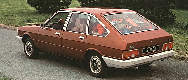 The five-door full-size family hatchback: a format that really did not take off until later years with the GM J-Cars (Cavalier II/Ascona C) in 1981 and the Ford Sierra of 1982. By that time, the 1976 Alpine was over the hill...