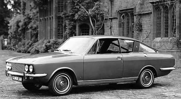 """The Sunbeam Rapier was launched in 1967 and could be best summed up as """"gentleman's tourer"""". It was a stylish car indeed, but sadly, was not developed during its life. (Picture: Chrysler press photo, supplied by Graham Arnold)"""