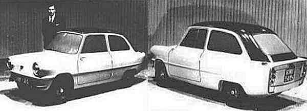 The stage two Slug prototype still looked rather utilitarian, but it was a step towards the Apex; after this, all would change.