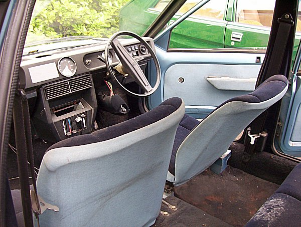 There is acres of room in this prototype - almost as much in the SD1. The thin seats were obviously development only, but they did create interior space unmatched in a car of its size, even today.