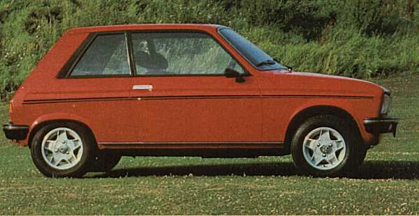 """Peugeot came onto the scene and decided that what Chrysler desperately needed was a replacement for the rear wheel drive Sunbeam model. The Peugeot 104 """"shortcut"""" was chosen by management as the car to base the new Talbot badged supermini on."""