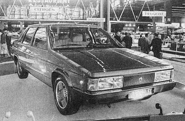 Tagora is takes a bow at the Paris Salon in October 1980 - initial reactions were subdued, to say the least  However, when Chrysler's European operation was sold to PSA in 1978, the C9 story changed somewhat.