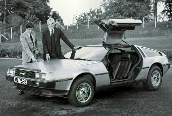 Giorgetto Giugiaro with the DMC-12