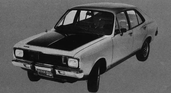 Dodge 1500 GT 90 (World Cars 1974)