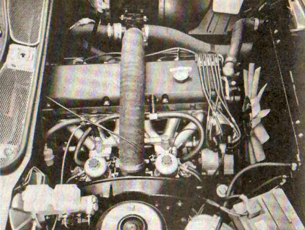 The 2600 unit, installed in an early Rover SD1.