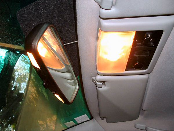 The illuminated rear view mirror from the MGF and the front door mirror tweeters may not be completely necessary, but they add two extra 'bullet points' to the equipment list.
