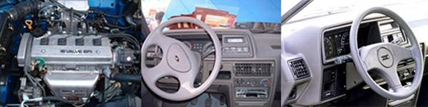 A look under the bonnet reveals the Toyota-sourced power unit, and inside, the new steering wheel and in-car entertainment differentiated the Etsong models from any other LHD, Cowley-built Maestro.