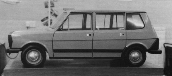 Bill Lucas's vision for the FX4's replacement, as demonstrated by the original 1:5 scale model.