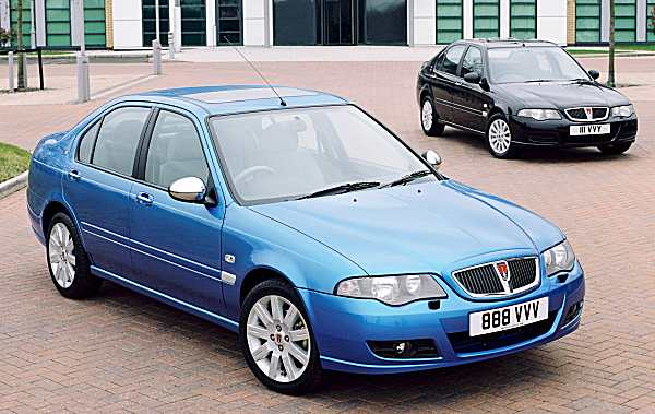 The cars : Rover 400/45/MG ZS development history