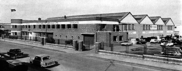 The spares and service depot of Standard Triumph (Ireland) Ltd, in the mid-Sixties.
