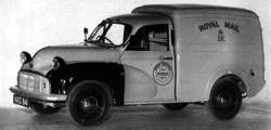 Royal Mail-spec Morris O-type van
