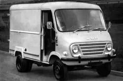 1968 BMC 350EA van