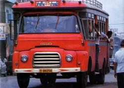 Austin 45-based bus in Thailand
