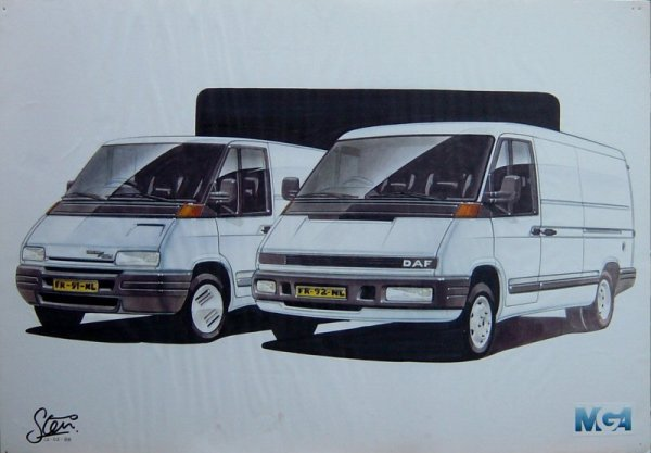 Early proposal examined the idea of differentiating narrow- and wide-body styling, like Renault had done with the Trafic/Master.