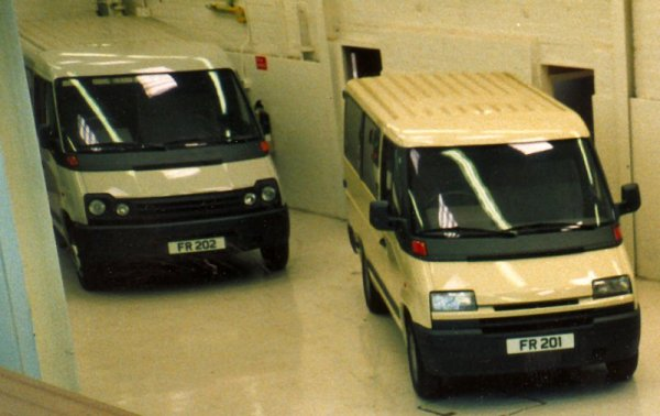 Low-roofed FR201 and FR202 by Bertone were not universally admired for their styling.