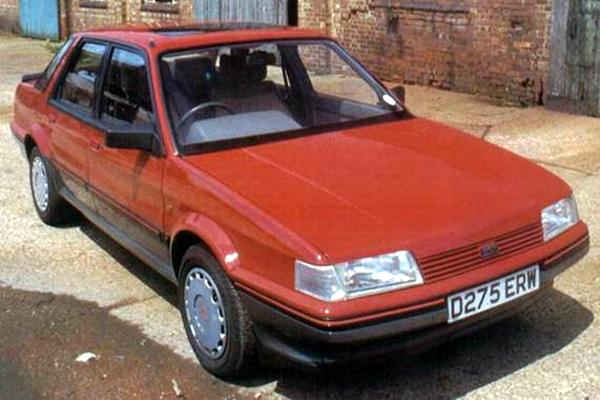 One of Graham Day's yuppie chasing models, this one being the 1987 Montego 2.0Si. Basically a very competent car, but saddled with styling and image that did not appeal to the Yuppies Day so wanted to court.