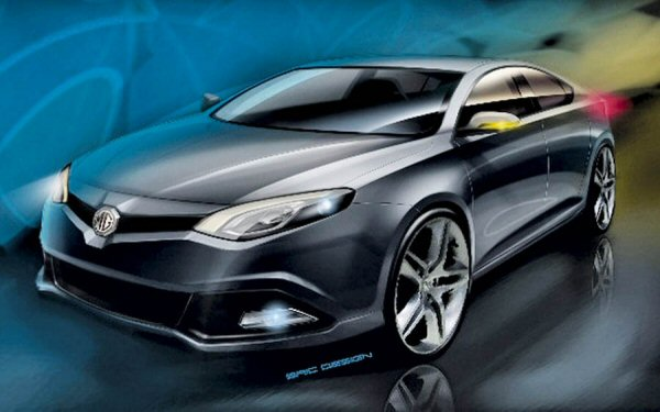 MG6 rendering hints at sporting style