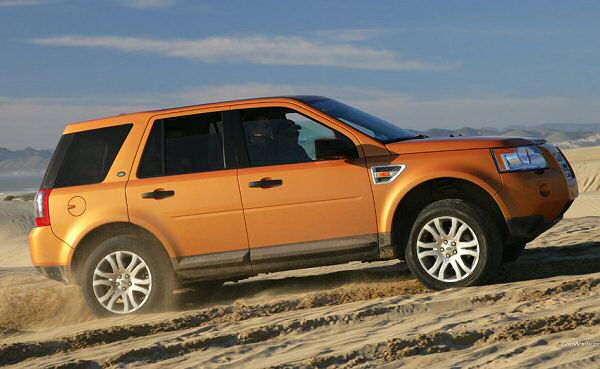 Land Rover sales down 67 per cent in the UK