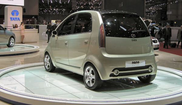 Tata Nano in European specification