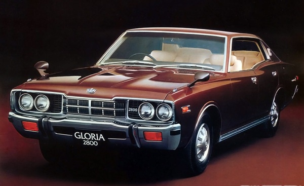 Nissan Gloria was powered by an engine closely related (and improved from) the BMC C-Series