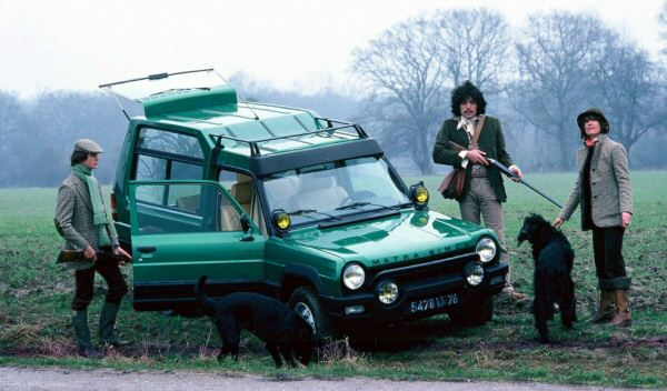 Matra Rancho in hunting mode