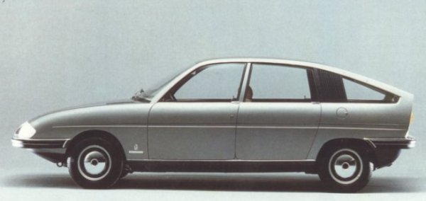"Follow up to the Pininfarina 1800 proposal of 1967, this fully engineered prototype built on Austin 1100 running gear was commissioned by BLMC, who had been impressed by the original. This car represents an even bigger missed opportunity than the larger car and its relevance is thrown into great relief by the absolute ugliness of the 1100's replacement, the Allegro - and it comes as a disappointment to report that not only was this car passed over by British Leyland, but they reported to Pininfarina that they were 'disappointed"" with the design for being 'too close"" to the BMC-Pininfarina 1800!"