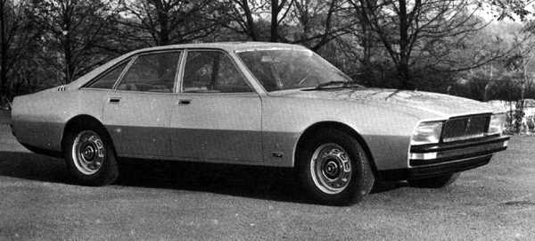 This was how Pininfarina envisaged the replacement for the Jaguar XJ12. While undoubtedly a stylish design, it was eventually considered to represent just too much of a departure from the traditional Jaguar values.
