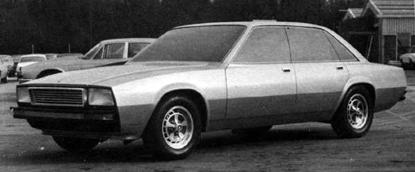 Before being dropped, the design was taken seriously enough for Jaguar to produce its own in-house version.