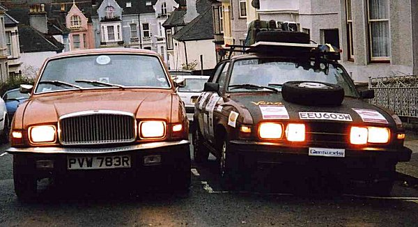 """My Vanden Plas """"Hasselhof' gets personal with 'Vera' the Allegro for one last time, Boxing Day..."""