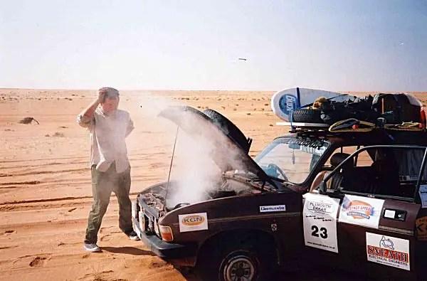 Overheating in the Sahara...