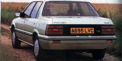 """The Rover 200 was classically """"wedge"""" shaped and nowhere is that fact more evident than in this photograph. In no way can it be considered stylish in the way that more aerodynamically styled rivals were, but it was well received by the British public nonetheless."""