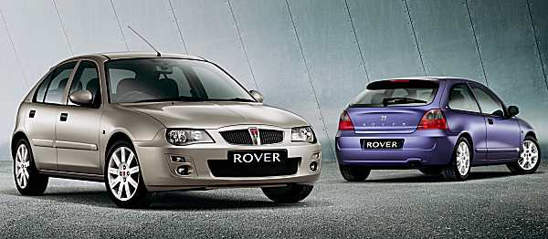 The cars : Rover 200/25/MG ZR development history