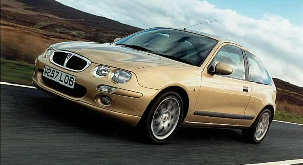 Rover 25 received new grille and headlamps, amongst other styling tweaks.Rover 25 received new grille and headlamps, amongst other styling tweaks.