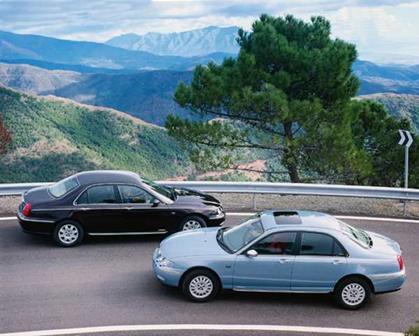 The cars : Rover 75/MG ZT development history