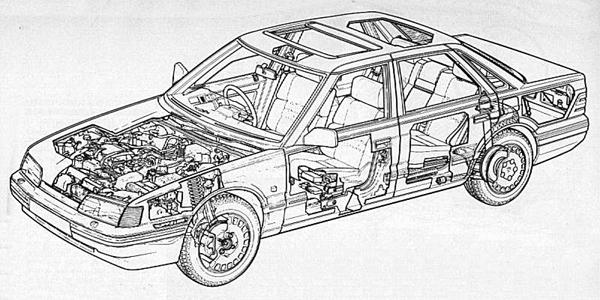 The Rover 800 laid bare: The car in the form that it was finally launched was probably somewhat different to the one that Austin Rover would have produced had they done so independently and given a free hand. Compromised this design may have been, but without Honda, there probably would have been no feasible replacement for the SD1 and for that reason, this collaborative venture should be applauded.