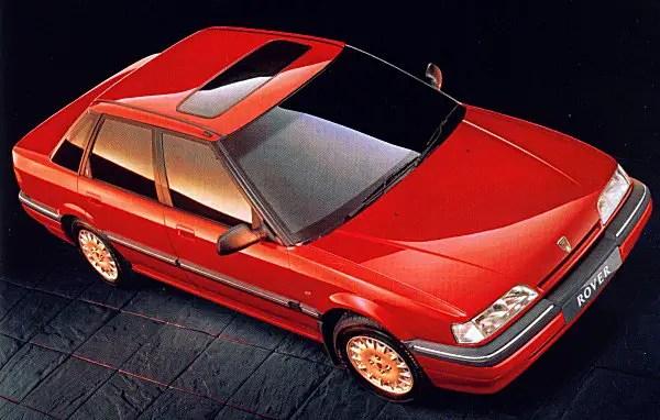 1991 Rover 418 GSD.