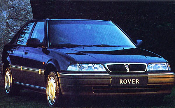 1993 Rover 214SLi - new grille gives the car more presence.