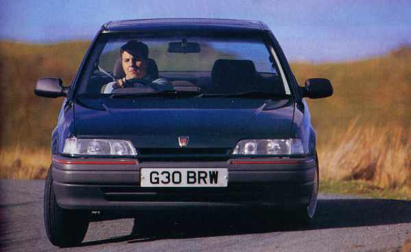 Autocar on the 416GSi: 'It has an eager responsive chassis and spreads grip evenly over four wheels...'