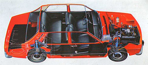 The Renault 12 was a significant step forwards...