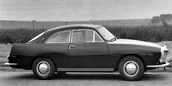 Lurking beneath the glassfibre skin of the 1960 Ogle 1.5 were the chassis and engine of the Riley One-Point-Five. It also used the Riley's windscreen (a feature that would be carried forward to the Mini-based Ogle SX1000). With just 68bhp on tap from the Alexander-tuned 1489cc B-series engine, performance wasn't brilliant; only 8 examples were built.