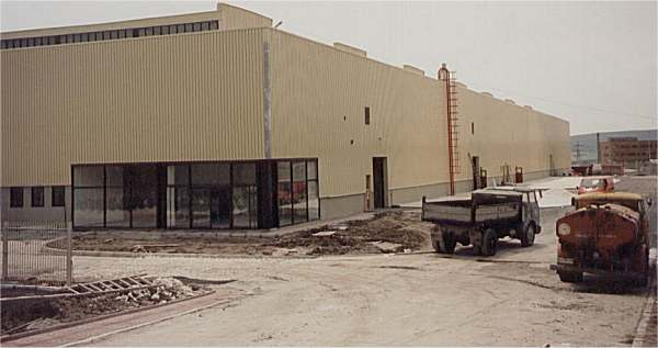 A new factory in Varna, Bulgaria was built especially to house the production line.