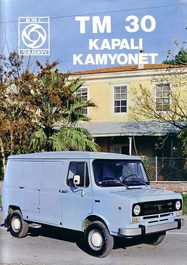 BMC Sanayi TM 30 Kapali Kamyonet - AROnline